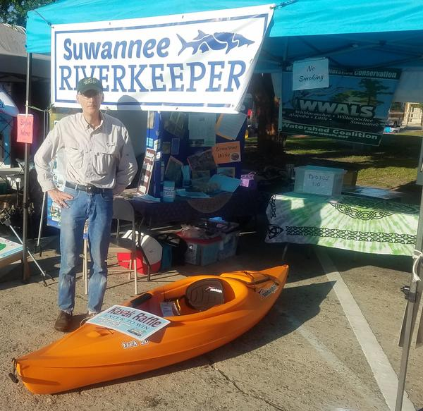 Donated by Bret Wagenhorst, Kayak