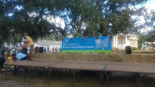Sponsor banner, Festival