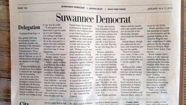Page 10A, Suwannee Democrat