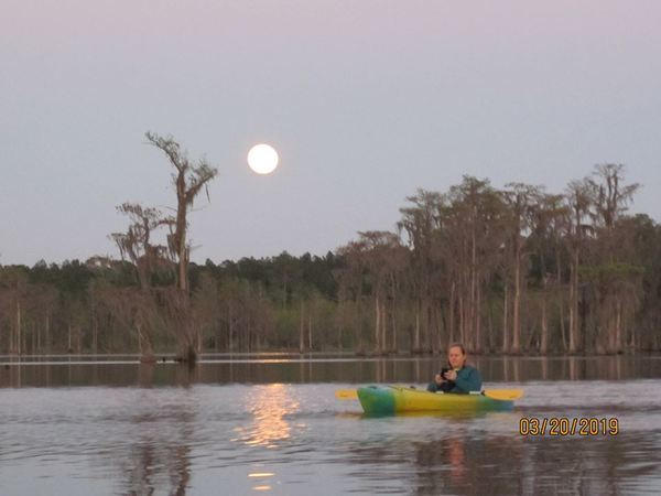 Paddler, Moonrise
