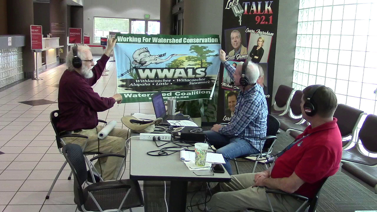 1280x720 WWALS banner, Scott James, in Video: BIG Little River Paddle Race, Paddle Georgia, Songwriting Contest, coal ash, trust funds, and wastewater, on Scott James Radio, by John S. Quarterman, for WWALS.net, 22 February 2019