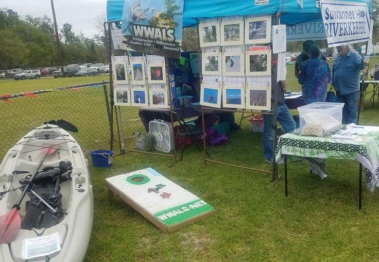 780x540 Suwannee Riverkeeper, WWALS, in Wild Azalea Festival, White Springs, FL, by John S. Quarterman, for WWALS.net, 16 March 2019