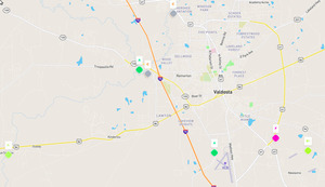 300x173 Map, Stations, in Vld gora, by John S. Quarterman, for WWALS.net, 2 April 2019
