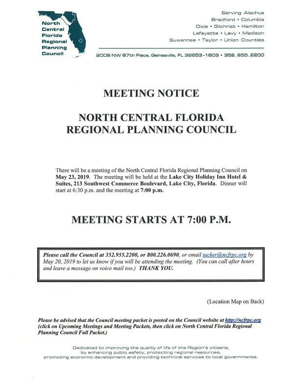 Meeting Notice, Packet