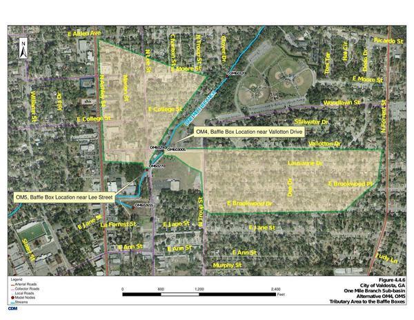 Map: Lee Street and VSU