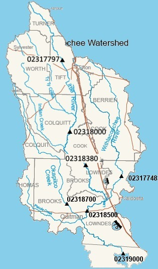 315x535 WRWT, in Withlacoochee River Water Trail gauges, by John S. Quarterman, for WWALS.net, 8 June 2015