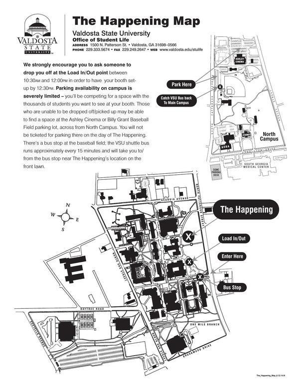 Happening Map June 2017
