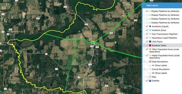 Zoomed Bradford County