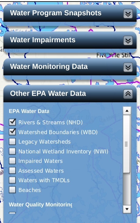 Other EPA Water Data