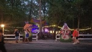 Mushroom stage across the street,