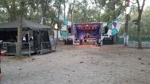 Preparing stage, Spirit Lake