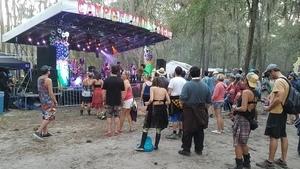 Campground stage, Spirit Lake