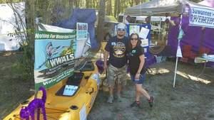 Movie: Raffle kayak and water quality testing (37M), Sailing Lake Ave.