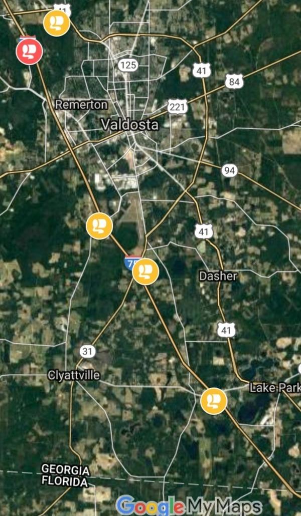 Google Map by WWALS.net,