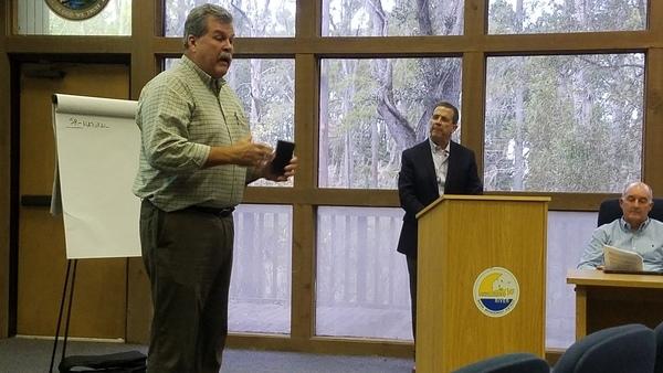 Agriculture --Hugh Thomas, SRWMD E.D., Suwannee River Basin Open Comments