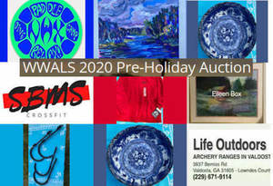 WWALS Pre-Holiday Auction