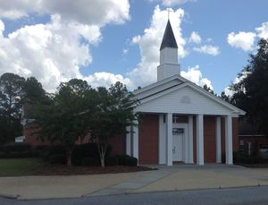 300x229 Riverside Church, in Alapaha River access at Riverside Church, by Bret Wagenhorst, 14 September 2014