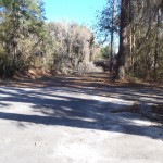 4288x3216 Parking to boat ramp, in Alapaha River at Statenville, January 2014 WWALS Outing, by Gretchen Quarterman, 18 January 2014