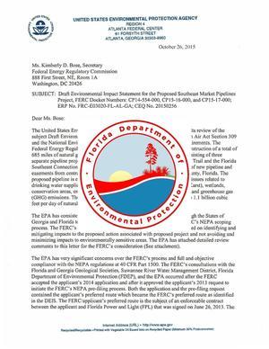 DEP over EPA