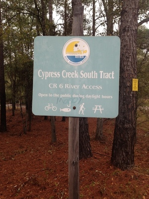 Cypress Creek South Trail