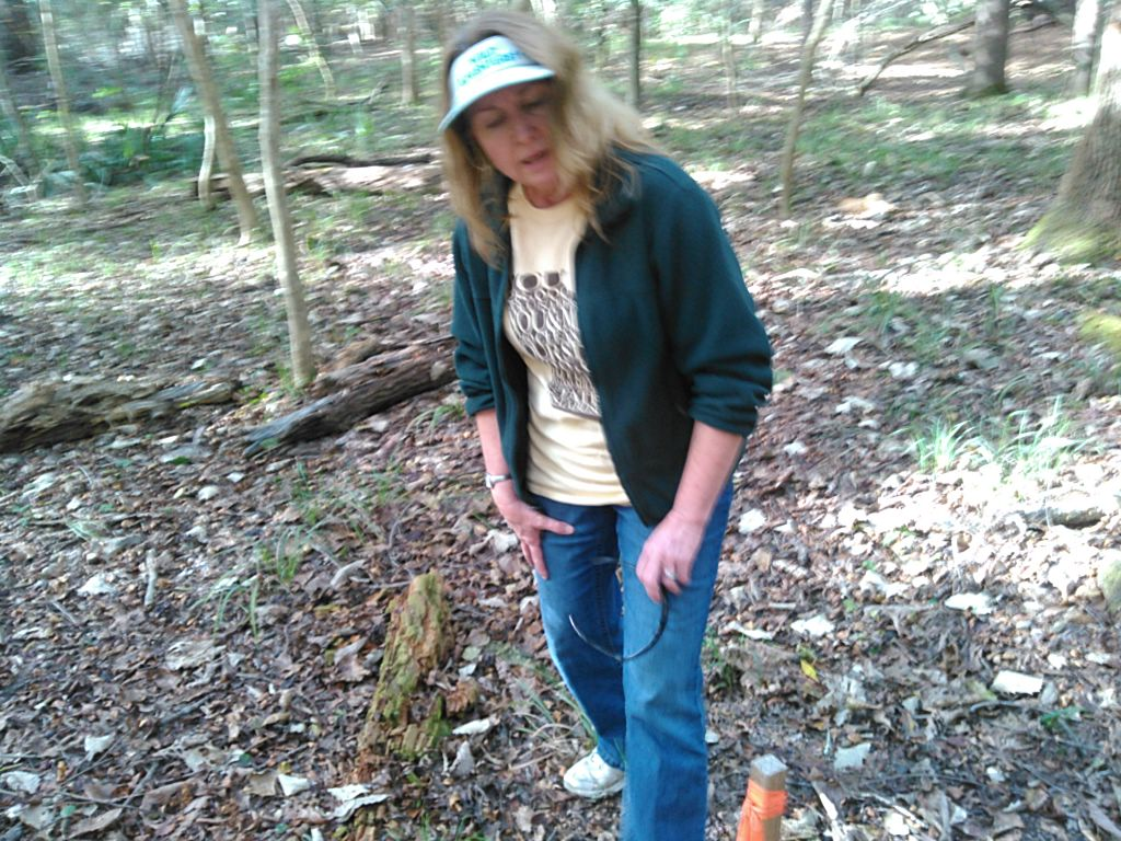 1024x768 Deanna 30.4073009, -83.1576080, in WWALS Field Trip to proposed Sabal Trail Suwannee River Crossing, by John S. Quarterman, for WWALS.net, 15 November 2015