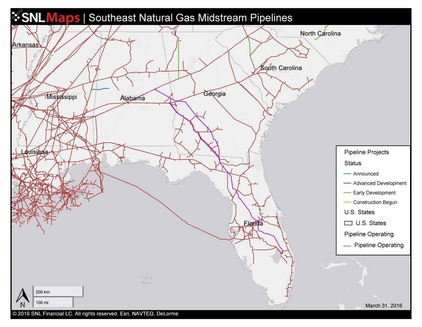 1448x1123 Map of Southeast Mid-Stream Natural Gas Pipelines, in Ensuring Sabal Trail compliance with LWCF, by Sierra Club, et al., for WWALS.net, 12 April 2016