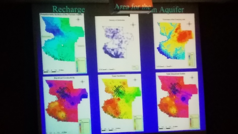 1008x567 Recharge Areas for the Floridan Aquifer --Can Denizman, in Water, Agriculture, and Forestry Public Meeting, by John S. Quarterman, for WWALS.net, 28 March 2017