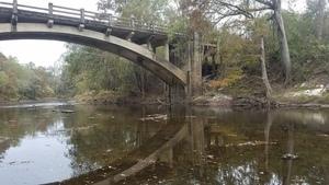 Brooks abutment, 13:23:44,, Spook Bridge 30.7900038, -83.4585197