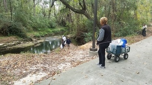 And along the path, Volunteers