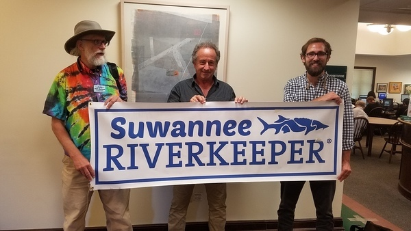 Suwannee: John S. (Andy) Quarterman, Tampa Bay: Andy Hayslip, Suncoast Waterkeeper: Andy Mele, Waterkeepers
