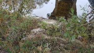 Sand slope, 12:40:48,, Below the downstream bridge 30.7900038, -83.4585197