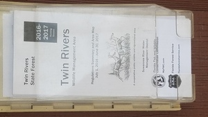 Twin Rivers WMA Regulations Summary and Area Map, Notices
