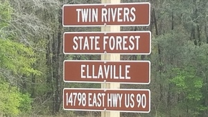 Twin Rivers State Forest Ellaville, 14798 East Hwy US 90, Entrance