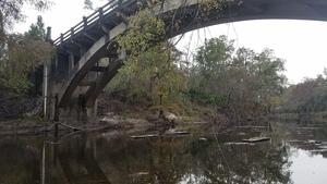 Looking upstream, 13:25:00,, Underneath 30.7900038, -83.4585197