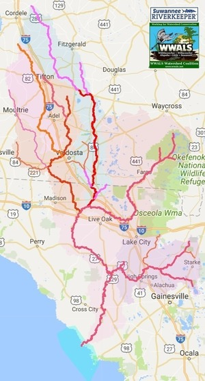 Narrow, Suwannee River Basin