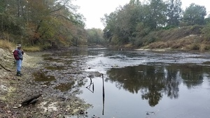 Small rapids downstream, 13:26:44,, Underneath 30.7900038, -83.4585197