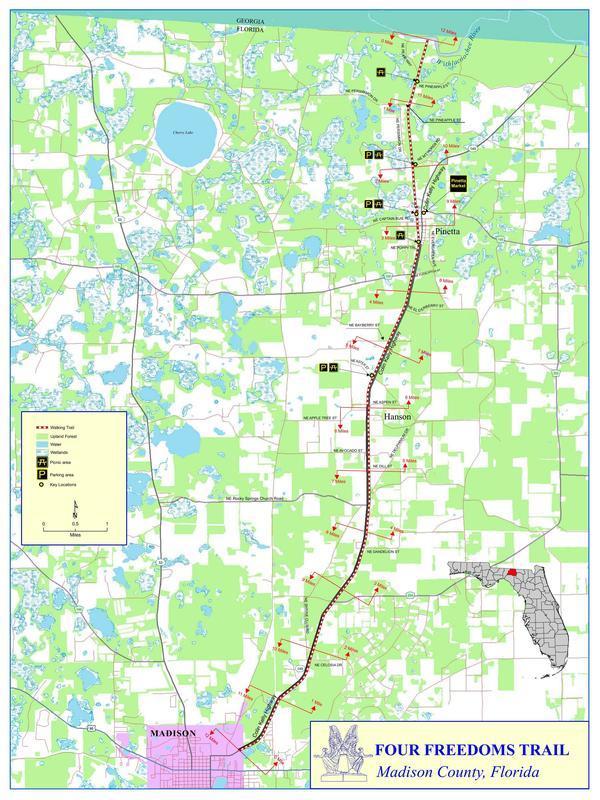 Map, Madison Co., FL