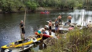Tom H. Johnson Jr. mid-river, 12:23:47,, McIntyre Spring 30.6420756, -83.3661254
