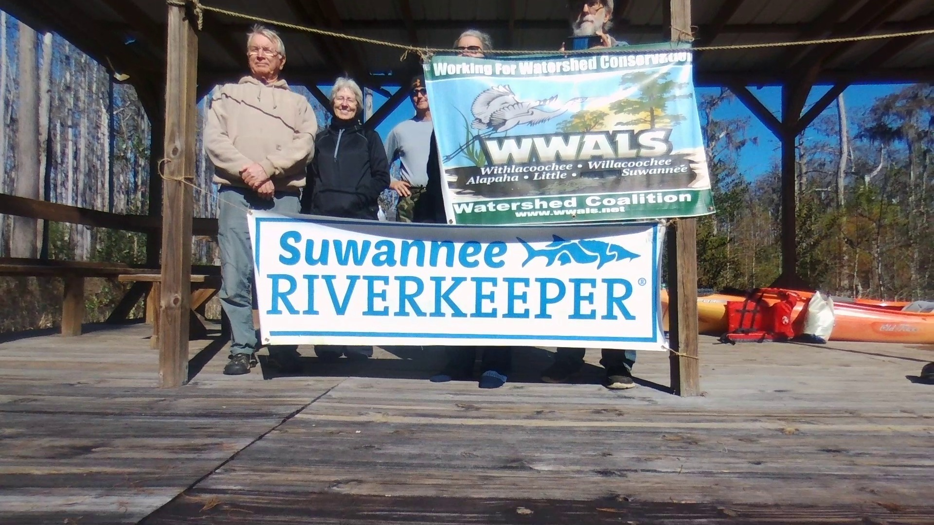 1920x1080 Go Higher, 30.861228, -82.323492, Drone, in One alligator, some turtles, many birds: cold and clear Okefenokee Outing, by John S. Quarterman, for WWALS.net, 10 December 2017