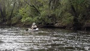 Below the shoals, 11:42:52,, Tween Creek Shoals 30.6557288, -83.3645306