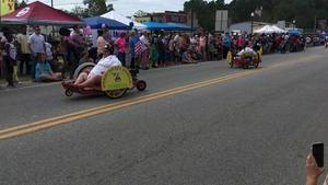 Perry Krazy Wheels, MARZUQ, Parade