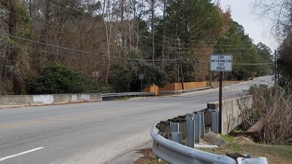 Bridge, Over Sugar Creek
