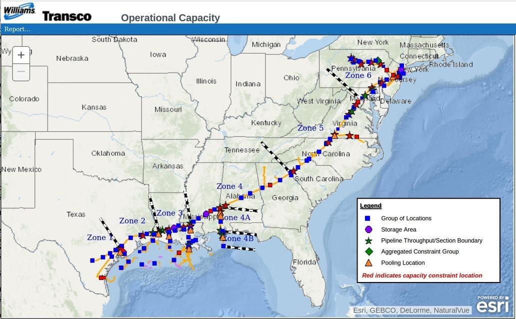1032x639 Transco, Maps, in Informational Postings: Transco, Sabal Trail, FSC, FGT, Gulfstream, by John S. Quarterman, for WWALS.net, 5 January 2018