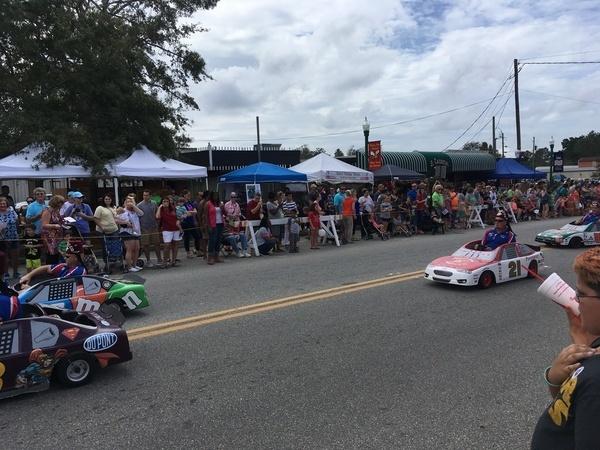 Go-carts, Parade