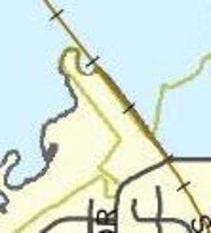 Lowndes County Commission districts Gornto Road, Maps
