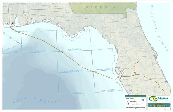 Gulfstream, Maps