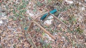 Trash chair, 16:38:14,, Heading back 30.8623900, -83.3224500