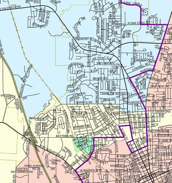 Lowndes County Commission districts, Maps