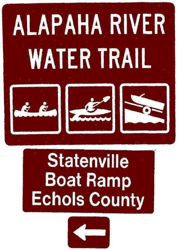 Statenville Boat Ramp, Echols County, Left, Posts