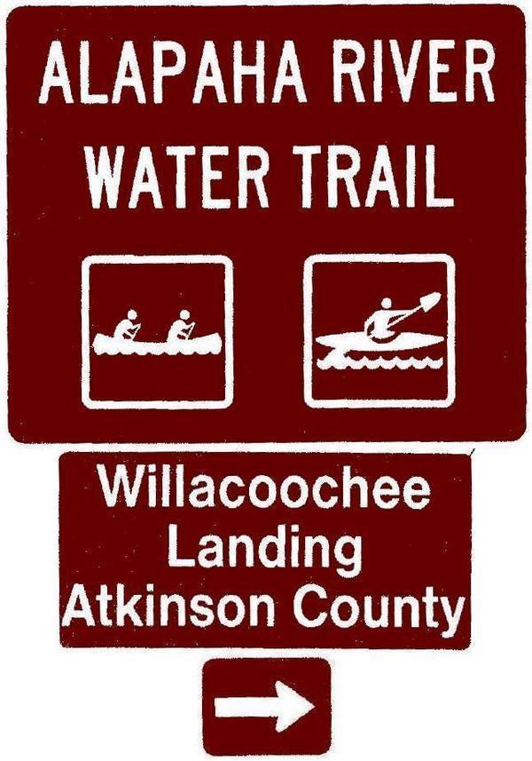 Willacoochee Landing, Atkinson County, Right, Posts